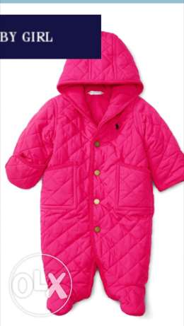 New Original Ralph Lauren Quilted Bunting (Baby Girl) القاهرة الجديدة -  1