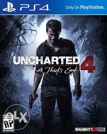 "لعبة Uncharted 4: A Thief's End "" جديدة متبرشمة """