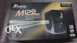 Power supply Seasonic M12II 620w Evo Fully MODULAR باور سبلاي سيسونك