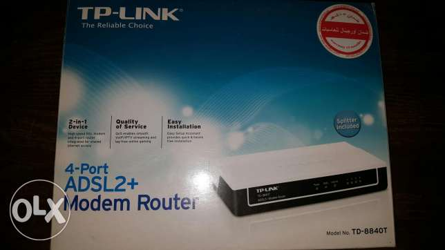 روتر Tp-link 4 port no wifi