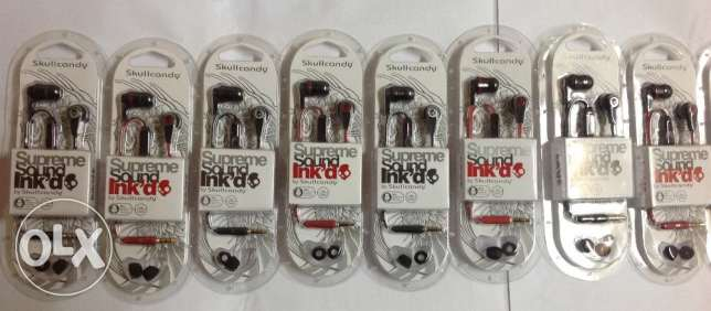 SkullCandy Supreme Sound Ink'd 2.0 Earbuds With MIC Skull Candy