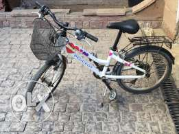 Girl's Peugeot Bicycle