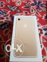New iPhone 7 gold - 32 GB - never opened
