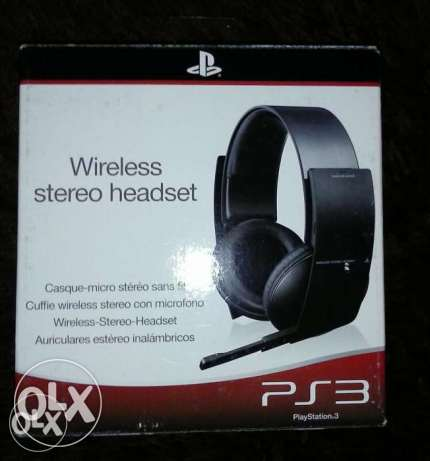 Ps3 Sony stereo headset
