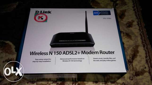 Router 4 port wireless D-Link