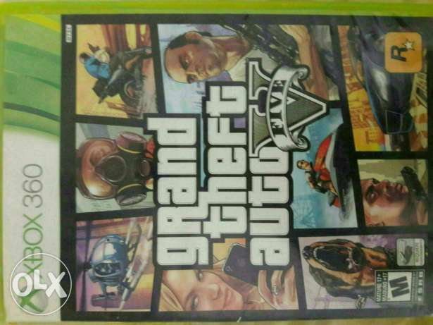 Gta v for sell (xbox 360)