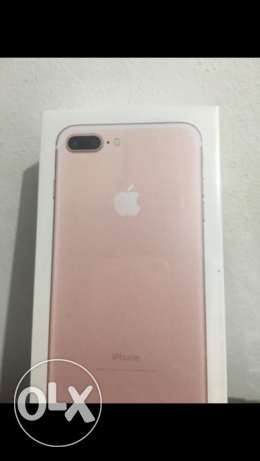 iphone 7 plus rose gold 128gb brand new and sealed