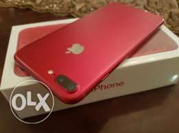 Iphone 7 plus red 128 new