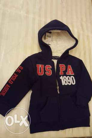 U.S. Polo Assn. original for Kids Fleece Jacket الهرم -  2