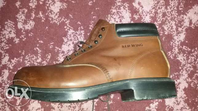 Red wing shoes Safety size 48 made in USA الإسكندرية -  7