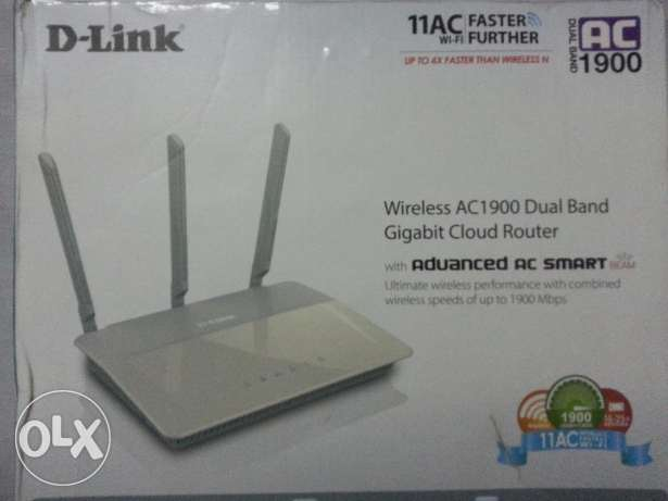 Router D-Link Wireless AC1900 Dual-Band - DIR-880L راوتر
