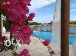 3 bedroom villa with private heated pool in El Gouna