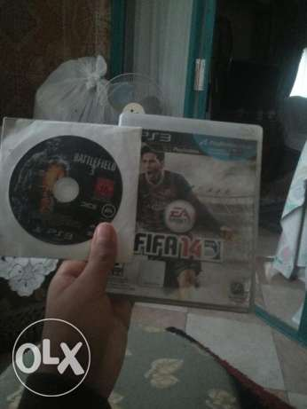 Ps3 games 2 CD games (fifa14 and battlefield 3) حدائق القبة -  1