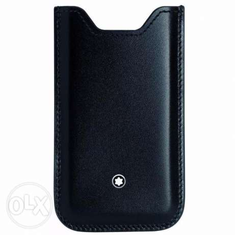 original mont blanc leather case for iphone 5 5s and 5c