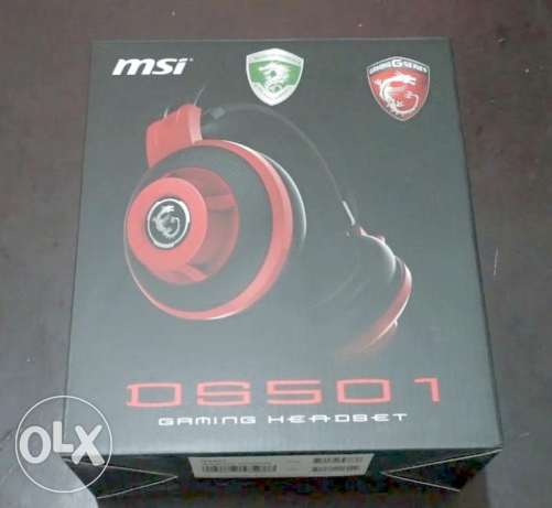 MSI DS501 Stereo Gaming Headset **عروض رمضان**