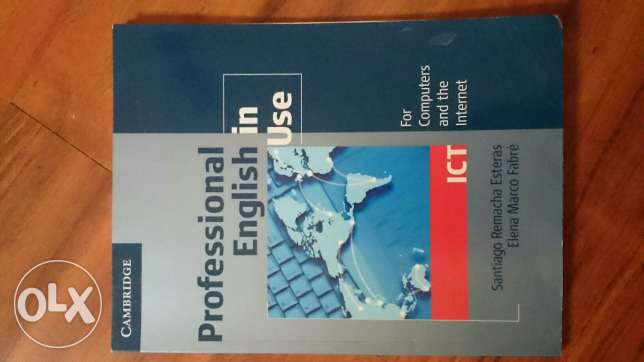 Professional english in use. book for sale