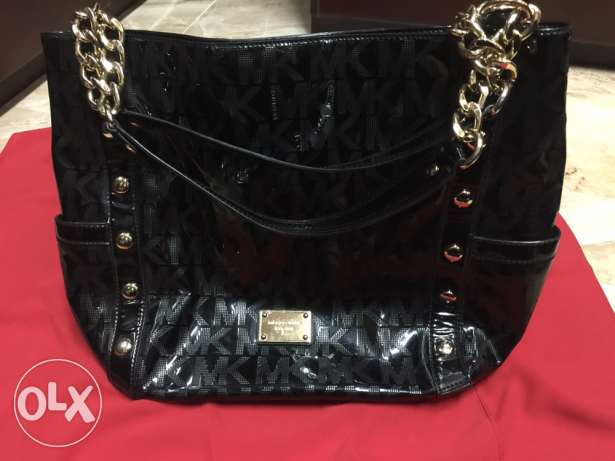 Original black Michael Kors MK purse/bag from USA