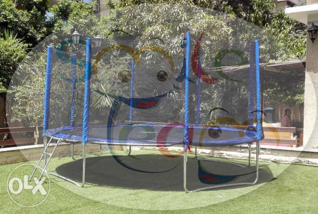 trampoline نطاطه 450 سم