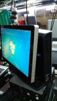 All one core2duo 2/4- ram 4gb- hdd 320-vga intel 1gb-dvdrw-lcd 19-4usb