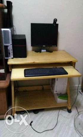 Desk for home computer