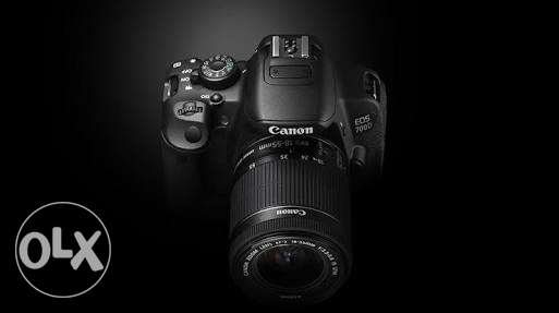 Canon 700d like zeroo with all accs
