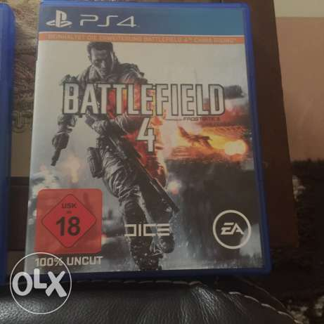 battlefield4 for sale or for exchange with gtav وسط القاهرة -  1