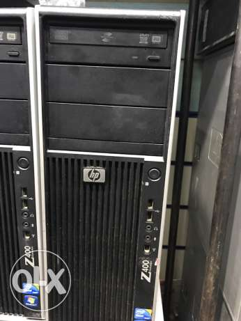 HP z400 3.3/12 6core with liquid cooling