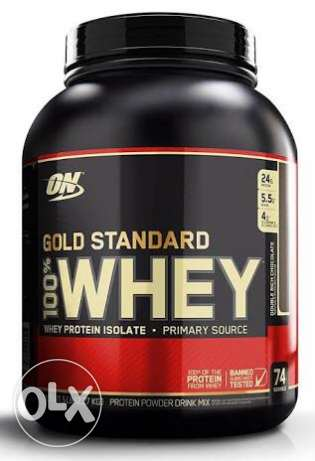Whey gold standard Sealed new