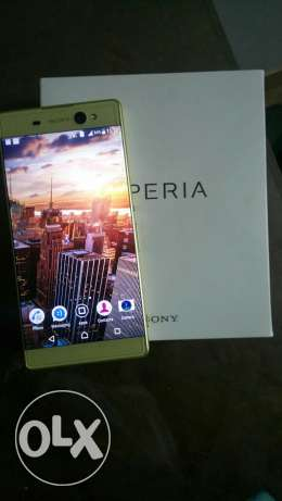 Sony XA ultra lime gold النزهة -  1