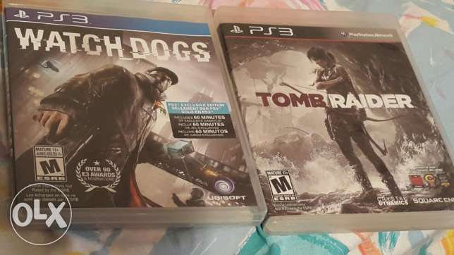 Watch dogs and tomb raider