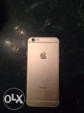 I phone 6 64GB Gold. المقطم -  2