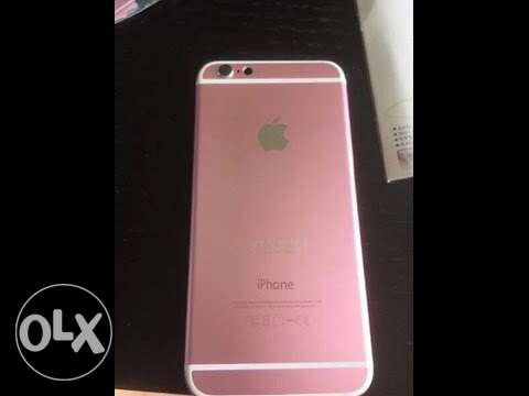 iphone 64 gold rose. 6s plus