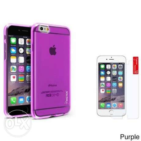 Rubber Candy Skin Phone Case for iPhone 6