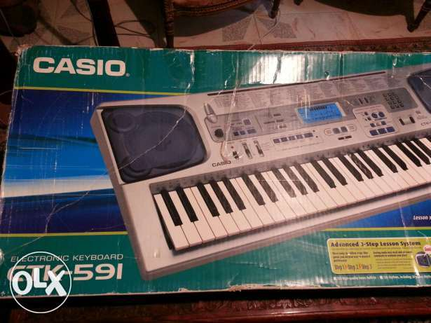 electronic keyboard casio ctk-591