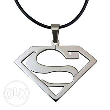 Superman necklace - سلسلة سوبر مان