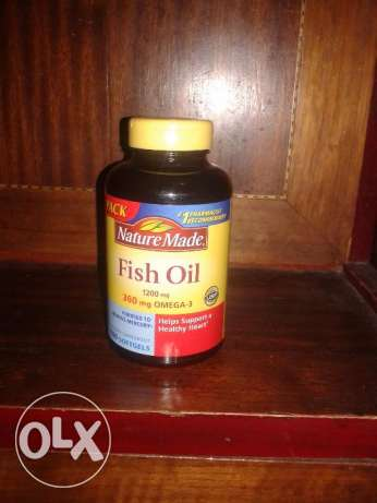 Omega 3 Fish Oil 100 ct