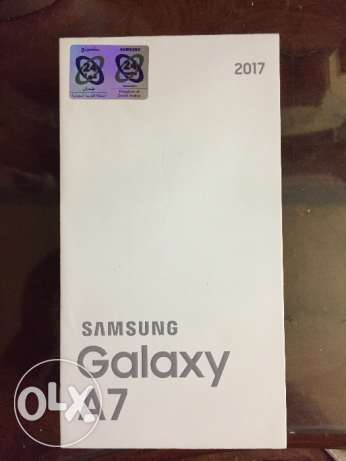 4G dual sim Samsung galaxy A7 new gold
