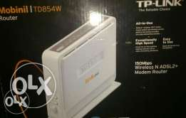 TP LINK dsl Wireless 4 Port