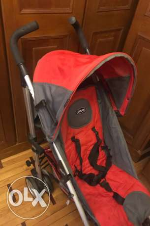 Chico stroller used few times in excellent condition