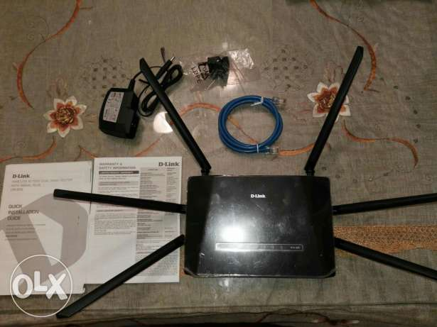 D-Link wireless AC1200 Dual Band Router With Signal Plus