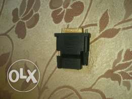 DVI-D to HDMI adapter (gold platted)
