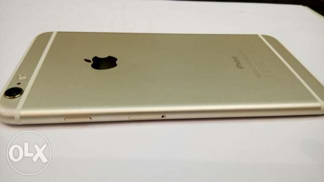 iPhone 6 Plus 64GB Gold مدينة نصر -  2