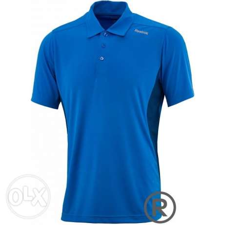 new reebok polo tshirt dry MEDIUM تيشرت بولو ريبوك