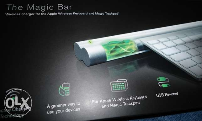 Magic Bar - Wireless Keyboard Charging المعادي -  2