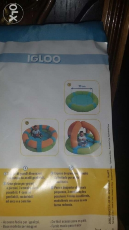 Brand new safety 1st baby activity park. حدائق القبة -  3