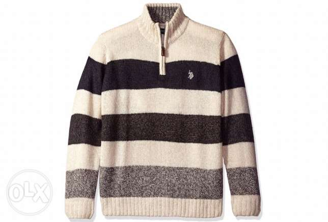 original brand new us polo assn pullover for immediate purchase