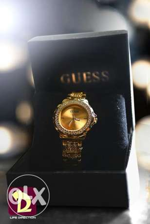 Guess Golden Watch for women