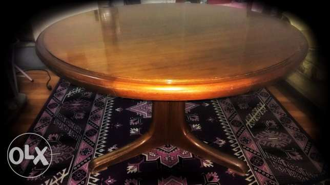 Original Beech Dinning Table with 4 Chairs