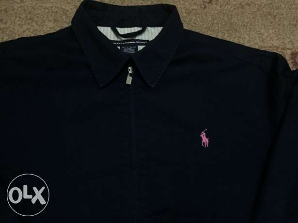 Polo Ralph original Jacket for women , size XL , blue colour , جبردين المعادي -  3