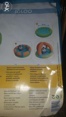 Brand new safety 1st baby activity park. حدائق القبة -  4